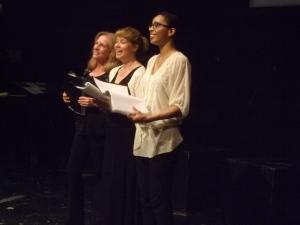 Left Forum: Claudia Schneider, Stacey Linnartz, Krystel Lucas