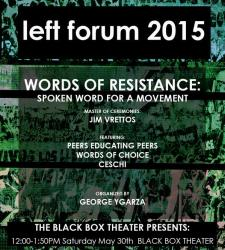 graphic for Left Forum